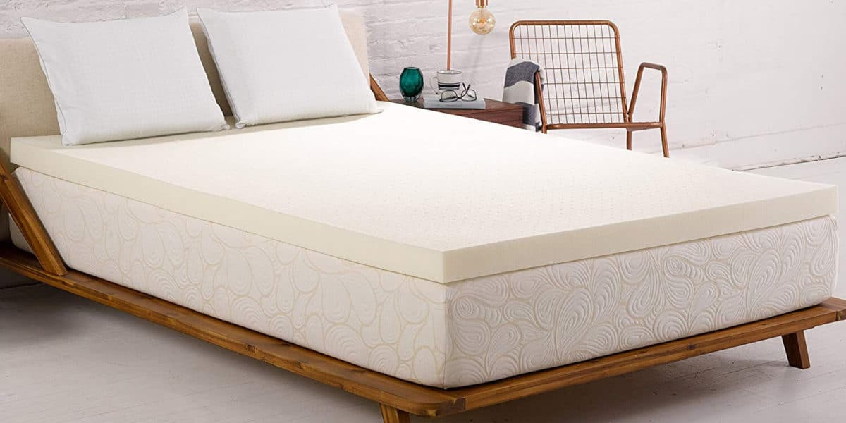 elastic memory foam mattress topper