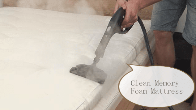 Clean-Memory-Foam-Mattress