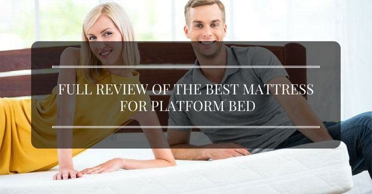 best mattress for platform bed