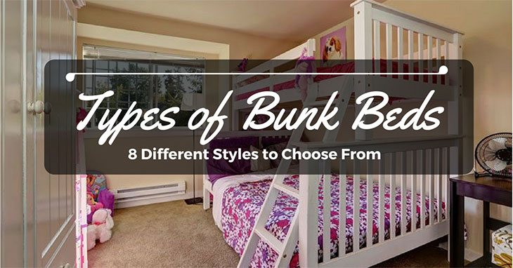 Types Of Bunk Beds: 8 Different Styles To Choose From